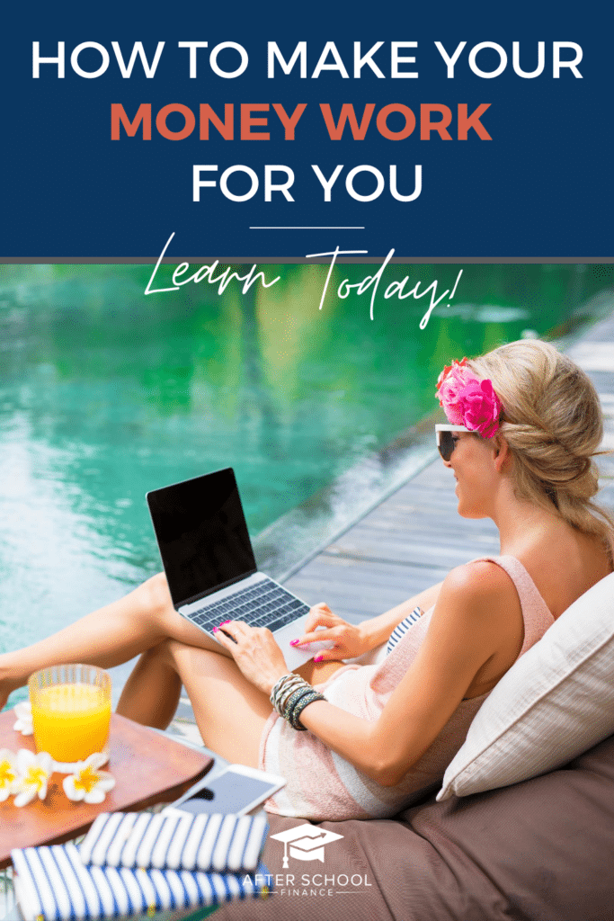 Make Your Money Work for You Pinterest Pin