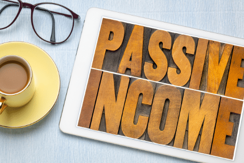 Rich vs. Wealthy Passive Income iPad