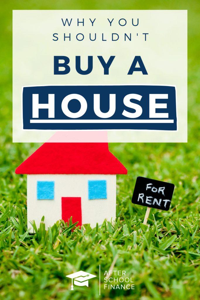 Don't Buy a House Pinterest Pin 2