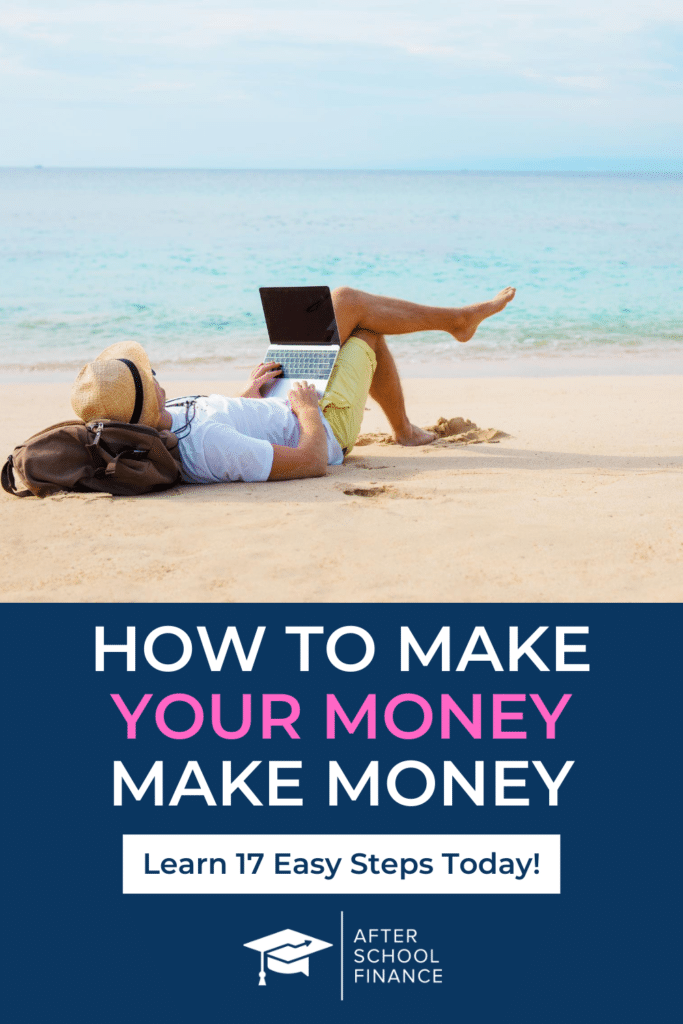 Make Your Money Work for You Pinterest Pin 2