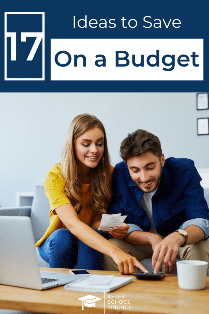 Save Money on a Tight Budget Pinterest Pin 2