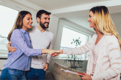 Meeting Real Estate Agent