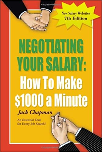 Negotiating Your Salary How to Make $1,000 per Minute Book Cover