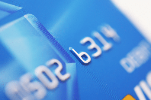 Blue Debit Card