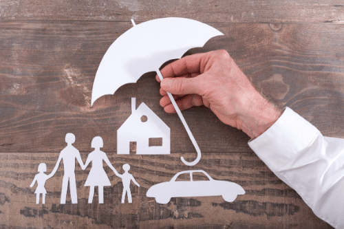 protecting family with insurance