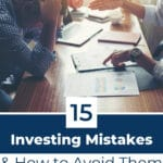 Common Investing Mistakes Pinterest Pin