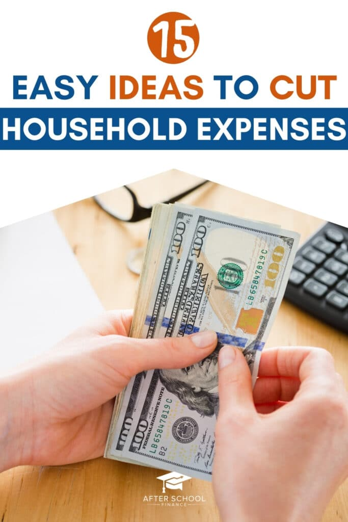 Drastically Cut Household Expenses Pinterest Pin